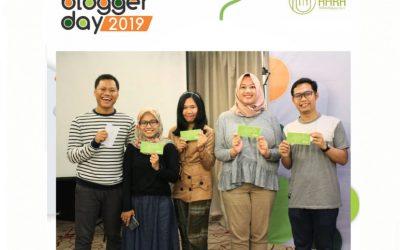 AHRA Reflexology Bagi-bagi Hadiah di BloggerDay 2019