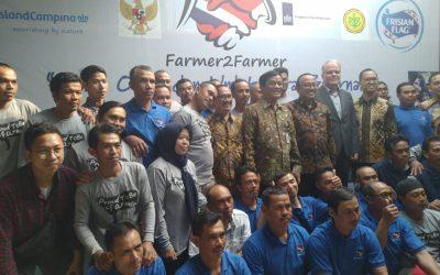 Frisian Flag Indonesia Dukung Kemajuan Peternak Indonesia melalui Farmer2Farmer