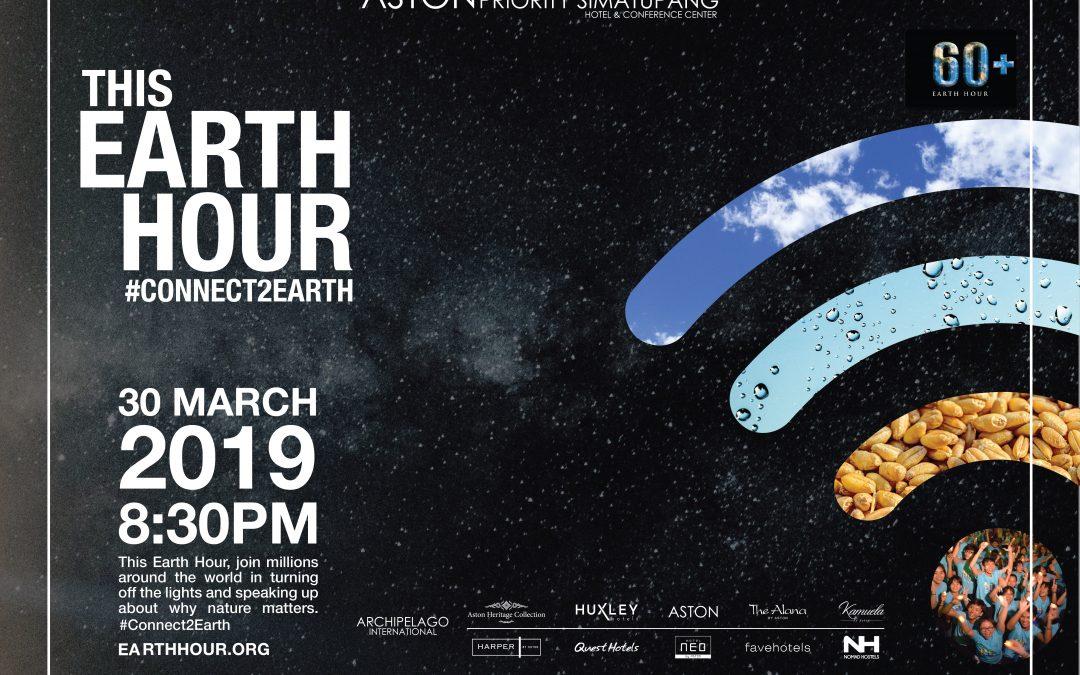 Aston Simatupang Adakan Earth Hour untuk Dukung Hijaukan Bumi