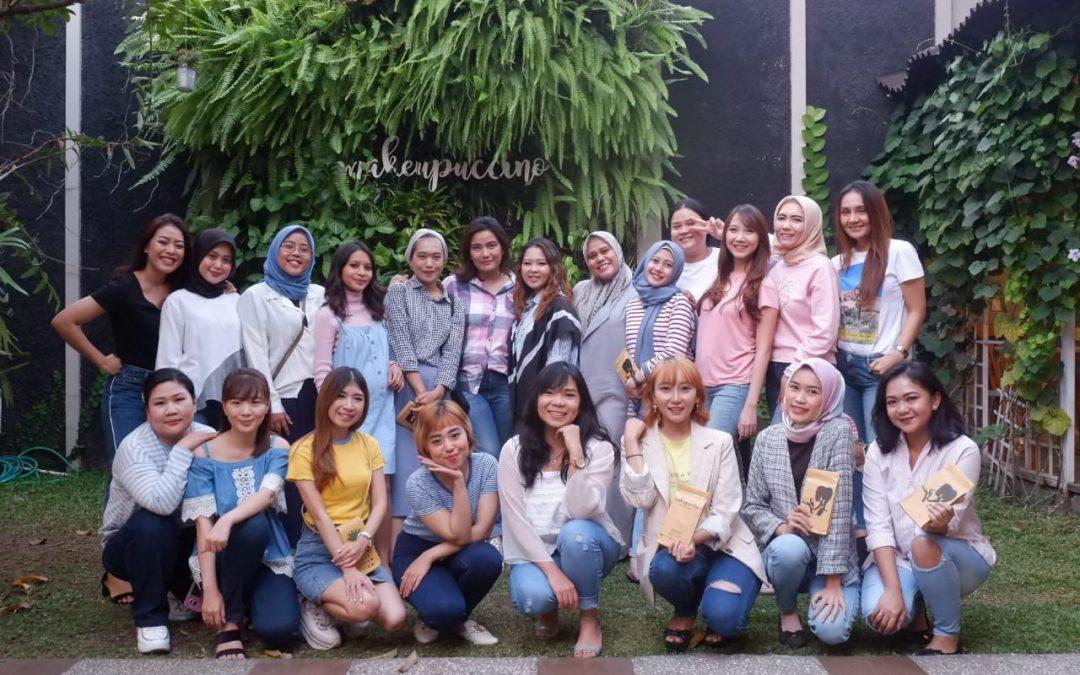Makeupuccino Sehangat Sahabat Dukung BloggerHangout di Bandung