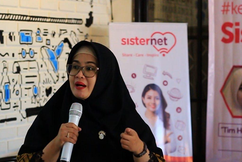 Astri Mertiana menjelaskan tentang Sisternet (dok. BCC)
