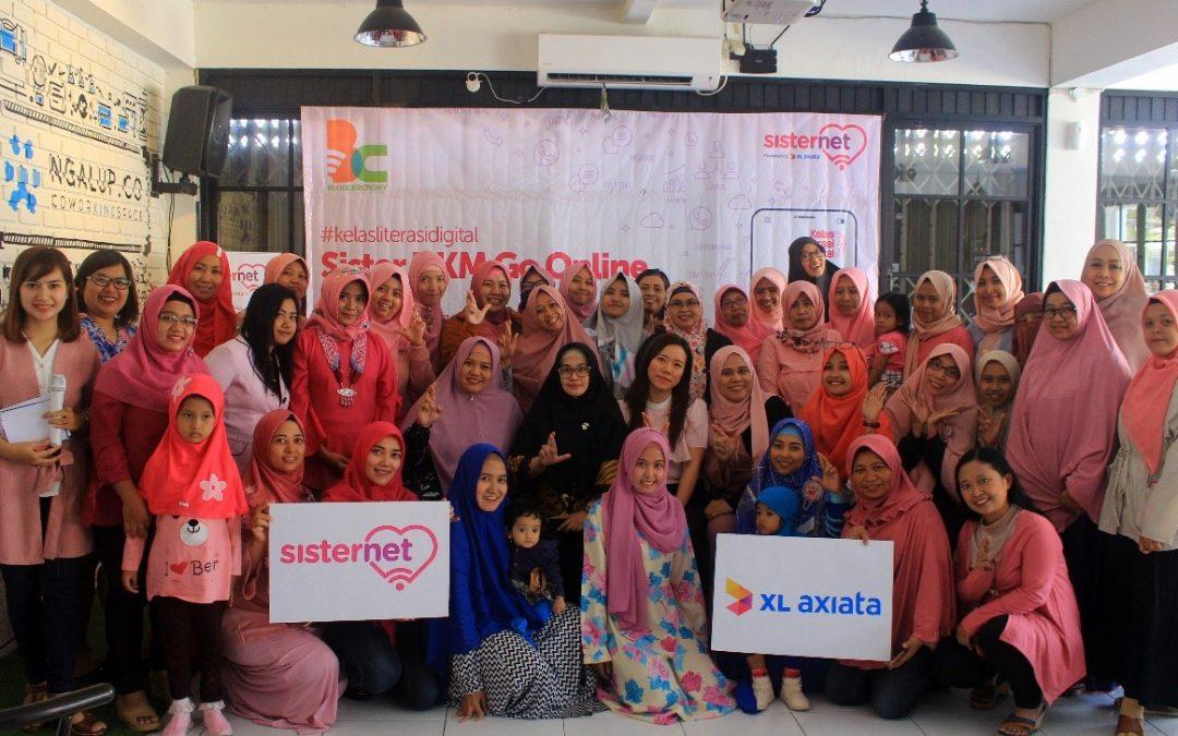 """""""Sister Go Online"""", Pelatihan UKM Kolaborasi BCC dan Sisternet"""