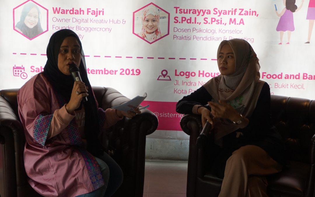 Menggandeng Bloggercrony, Sisternet Adakan Kelas Literasi Digital Parenting di Palembang