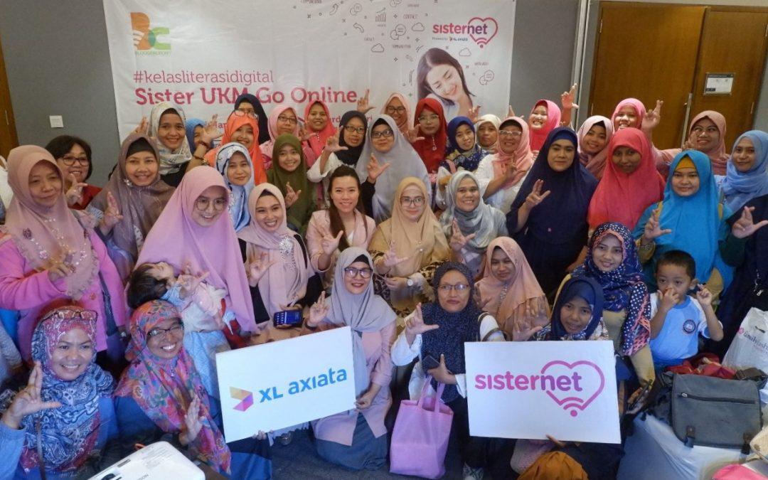 Pelatihan Digital Untuk UKM Perempuan oleh Sisternet XL Axiata dan Bloggercrony di Surabaya