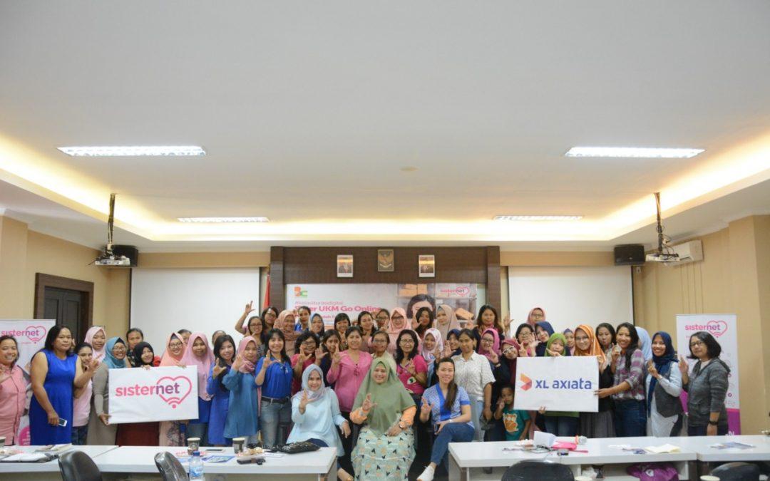 Kelas Literasi Digital oleh Sisternet XL Axiata bersama Bloggercrony disambut antusias perempuan UKM di Bali